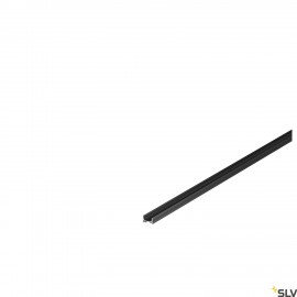 SLV 1000462 GRAZIA 10 LED Surface profile, flat, grooved, 2m, black