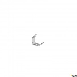 SLV 1000489 GRAZIA 10 LED Surface profile grooved, 45° mountig clip visible, 2 pcs.