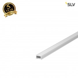 SLV 1000502 GRAZIA 20 LED Surface profile, flat, grooved, 2m, alu