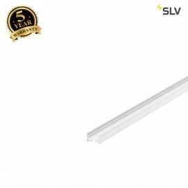 SLV 1000503 GRAZIA 20 LED Surface profile, flat, grooved, 2m, white