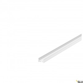 SLV 1000506 GRAZIA 20 LED Surface profile, flat, grooved, 3m, white