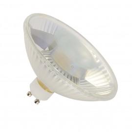 SLV 1000684 LED QPAR111 GU10 Bulb, 30°, 2700K, 400lm, 3 step dimmabel