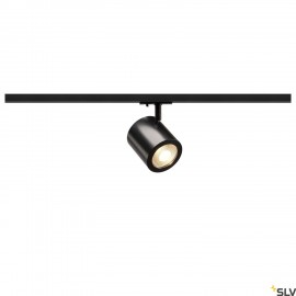 SLV 1000711 ENOLA_C LED Spot for 1Phase High-voltage Tracksystem, 3000K, black, 35°, incl. 1 Phase adapter