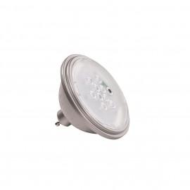 SLV 1000752 VALETO LED QPAR111, GU10 Bulb, 25°, silvergrey, 830lm, 2700K, dimmable