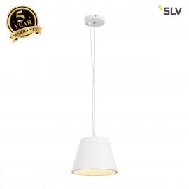 SLV 1000782 PLASTRA Pendant luminaire, TCR-TSE, white, max. 11W