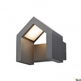 SLV 1000797 RASCALI WL, LED Outdoor surface-mounted wall light, anthracite, 3000K