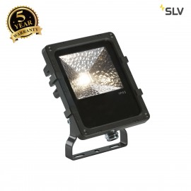 SLV 1000803 DISOS LED Outdoor Flood light, black, 3000K, 12W, IP65
