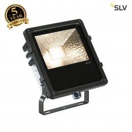 SLV 1000804 DISOS LED Outdoor Flood light, black, 3000K, 25W, IP65