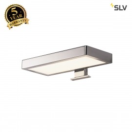 SLV 1000818 DORISA LED Mirror light, rectangular chrome,  4000K, IP44