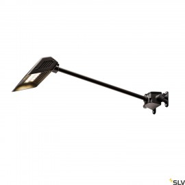 SLV 1000880 TODAY LED Outdoor Display luminaire, black, long, 4000K, IP65