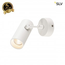 SLV 1000902 REVILO LED Wall and Ceiling luminaire, white, 2700K, 15°