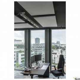 SLV 1000929 Q-LINE PD, LED indoor pendant, 2m, BAP, white, 4000K