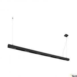 SLV 1000930 Q-LINE PD, LED Indoor pendant light, 2m, BAP, black, 4000K