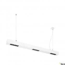 SLV 1000932 Q-LINE PD, LED indoor pendant, 1m, BAP, white, 3000K