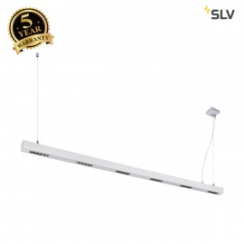 SLV 1000937 Q-LINE PD, LED Indoor pendant light, 2m, BAP, silver, 4000K