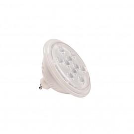 SLV 1000942 LED QPAR111 GU10 Bulb, 13°, white, 4000K, 730lm