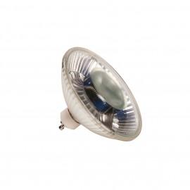 SLV 1001028 LED QPAR111 GU10 Bulb, 38°, 2700K, 540lm, dimmable