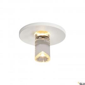 SLV 1001156 LED Lightpoint matt white, round, matt white, 1W LED, 3000K