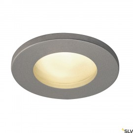 SLV 1001167 DOLIX OUT QPAR51, round, silvergrey