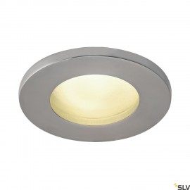 SLV 1001168 DOLIX OUT QPAR51, round, matt chrome