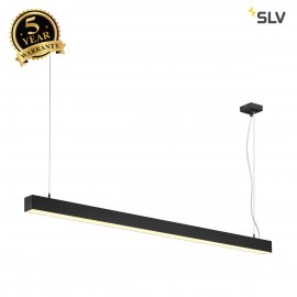 SLV 1001306 Q-LINE SINGLE LED, pendant, 1500mm, black