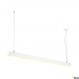 SLV 1001310 Q-LINE DALI SINGLE LED, pendant, dimmable, 1500mm, white
