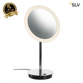 SLV 1001502 MAGANDA TL, LED table lamp, chrome, IP44, 3000K