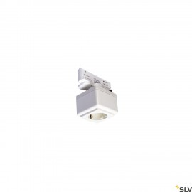 SLV 1001525 EUTRAC power socket adapter, traffic white