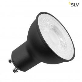 SLV 1001563 LED lamp, QPAR51, GU10, 7.2W, 36°, 3000K black