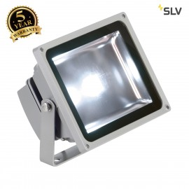 SLV 1001635 LED OUTDOOR BEAM, silver-grey, 30W, 5700K, 100°, IP65