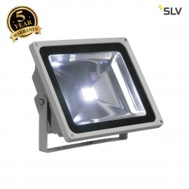 SLV 1001637 LED OUTDOOR BEAM, silver-grey, 50W, 5700K, 100°, IP65