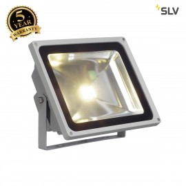 SLV 1001638 LED OUTDOOR BEAM, silver-grey, 50W, 3000K, 100°, IP65