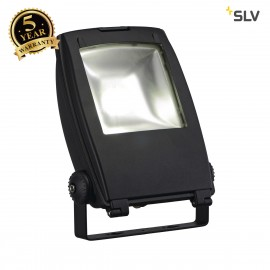 SLV 1001642 LED FLOOD LIGHT, matt black, 30W, 5700K, 100°, IP65