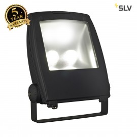 SLV 1001644 LED FLOOD LIGHT, matt black, 80W, 5700K, 90°, IP65