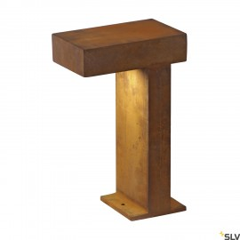 SLV 1001823 PATHLIGHT 40, LED outdoor floor stand, rust coloured, IP55, 3000K