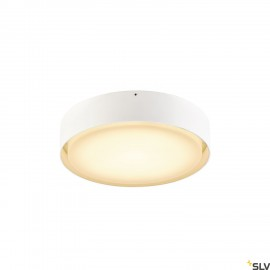 SLV 1001855 LIPA CL, LED Outdoor surface-mounted ceiling light, IP54, white, 3000/4000K