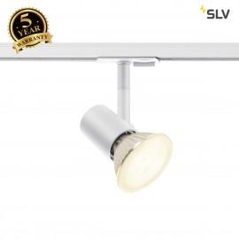 SLV 1001875 SPOT TRACK, E27, white, max. 75W, incl. 1-circuit adapter