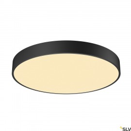 SLV 1001886 MEDO 60 CW, CORONA, LED Outdoor surface-mounted wall and ceiling light, TRIAC, black, 3000/4000K