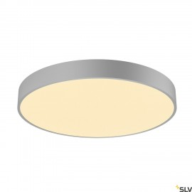 SLV 1001888 MEDO 60 CW, CORONA, LED Outdoor surface-mounted wall and ceiling light, TRIAC, silver-grey 3000/4000K