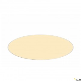 SLV 1001903 MEDO 60 EL, LED indoor recessed ceiling light, frameless version, white, 3000/4000K