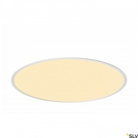 SLV 1001907 MEDO 60 EL, LED indoor recessed ceiling light, frame version, white, 3000/4000K