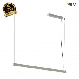 SLV 1001942 AROSA 1.25m, TRIAC PD, LED indoor pendant, aluminium, 3000K