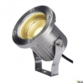 SLV 1001962 NAUTILUS SPIKE, LED outdoor ground spike luminaire, stainless steel 316, IP55, 3000K