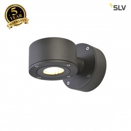 SLV 1002016 SITRA WL, LED Outdoor surface-mounted wall light, anthracite, IP44, 3000K, 9W