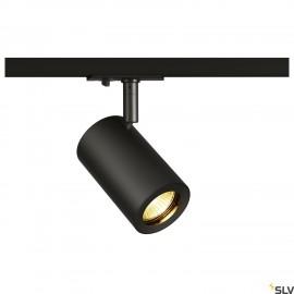 SLV 1002110 ENOLA_B TRACK SPOT, QPAR51 black, 50W, incl. 1-circuit adapter