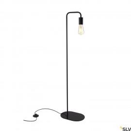 SLV 1002146 FITU WL, indoor floor stand, E27, black, max. 24W