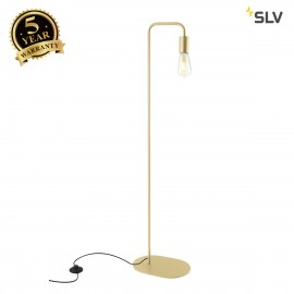 SLV 1002150 FITU FL, indoor floor stand, E27, soft gold, max. 24W