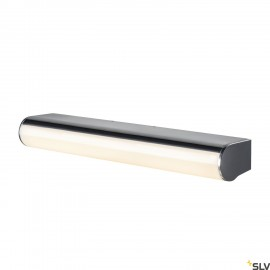SLV 1002190 MARYLIN, LED Outdoor surface-mounted wall light, chrome, IP44, 3000K, 10W