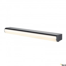 SLV 1002191 MARYLIN, LED Outdoor surface-mounted wall light, chrome, IP44, 3000K, 15W