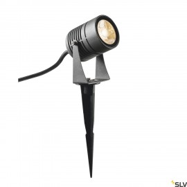 SLV 1002201 LED SPIKE, LED outdoor ground spike luminaire, anthracite, IP55, 3000K, 40°